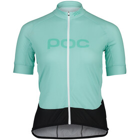 POC Essential Road Logo SS Jersey Women, light fluorite green/fluorite green